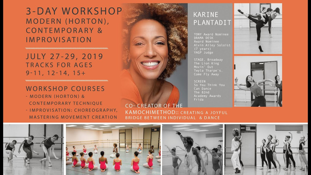 Karine Plantadit  Workshop at Bayer Ballet
