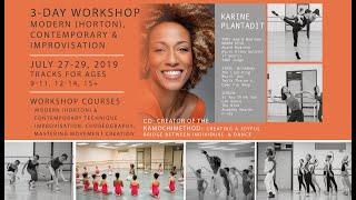 Karine Plantadit  Workshop at Bayer Ballet