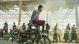 Gv Prakash in Sivappu manjal pachai movie bike race scen leaked