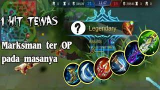 Download Mp3 Marksman Ter-op Pada Masanya || Legendary?easy!!! || Mobile Legends Bang Bang