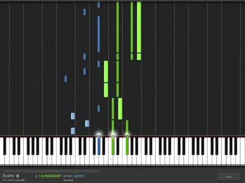 Pandora Hearts - Parallel Hearts Synthesia