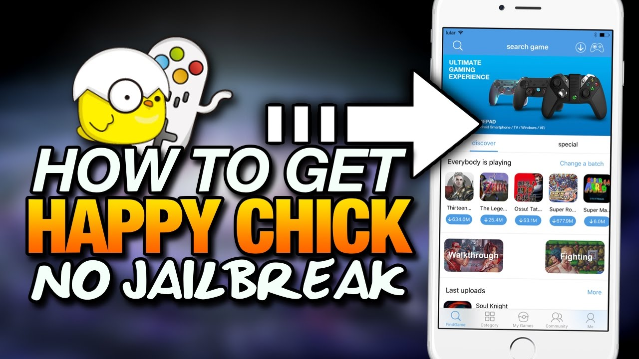 How To Get HAPPY CHICK On iOS 10 NO JAILBREAK With Tutu App (iOS 10 -  10 3 2)