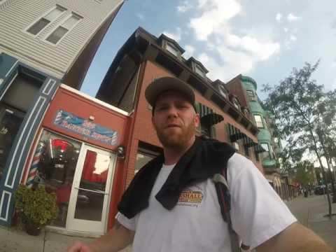 Boston Dan hits Maverick Square in East Boston