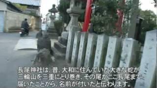 A073【大阪・奈良】竹内街道-7<芭蕉の綿弓塚~長尾神社>