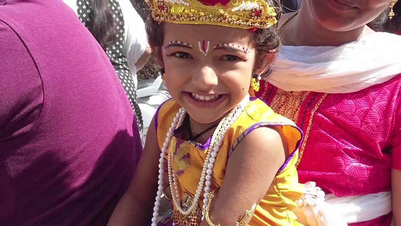 How To Make Up Krishna ,,, Little Cute Krishna & Radha