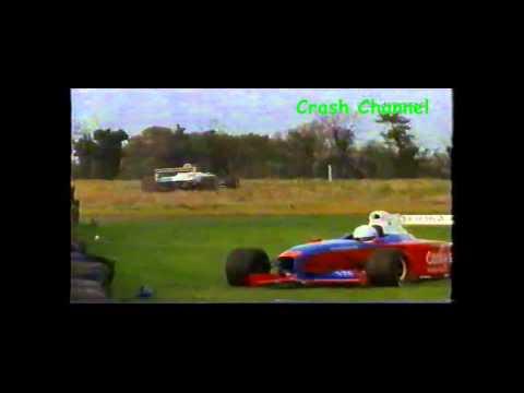 Formula Palmer Audi Steven Young Crash Snetterton 2004