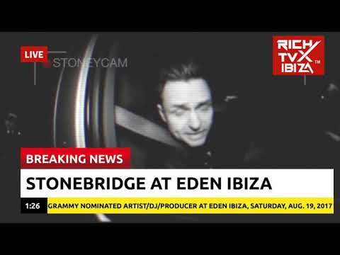 RICH TVX BREAKING NEWS |  SWEDISH SUPERSTAR STONEBRIDGE AT EDEN IBIZA