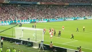 Mario Fernandes Goal LIVE REACTION   Russia vs Croatia 2018