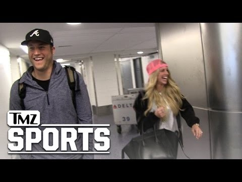 Matthew Stafford -- The 2-Minute Wedding Drill ... QB Recaps Party, Gifts, Honeymoon | TMZ Sports