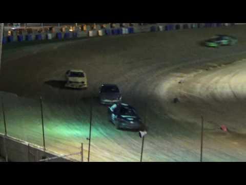 Flinn Stock Feature Race at Crystal Motor Speedway on 08-06-16.