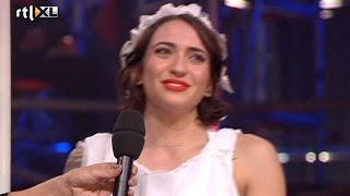 Optreden Christina - Show 4 - CELEBRITY POLE DANCING