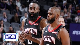 Is James Harden's reported argument with Chris Paul a sign of things to come? | Around the Horn