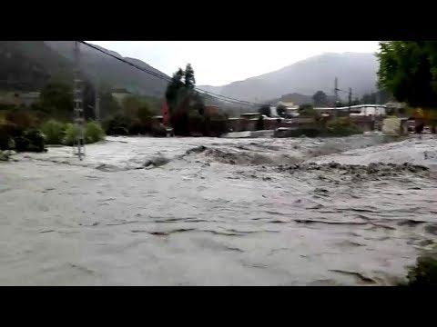 Massive Flooding in Blida, Algeria (Dec 14, 2018)