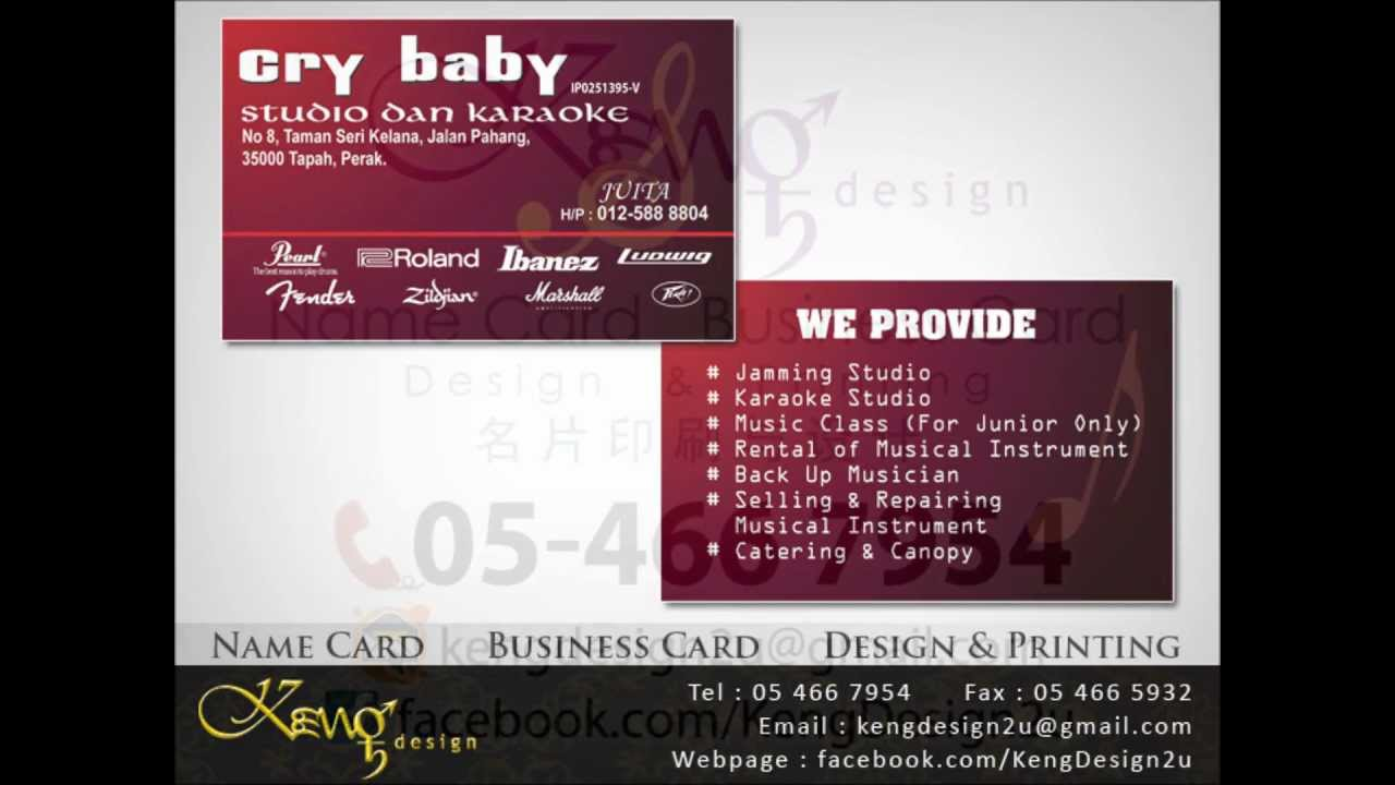 Sarawak business card name card design and sarawak business card name card design and printing service reheart Choice Image