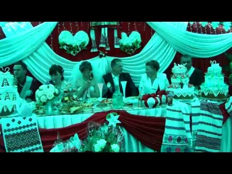 Прикольна свадьба в