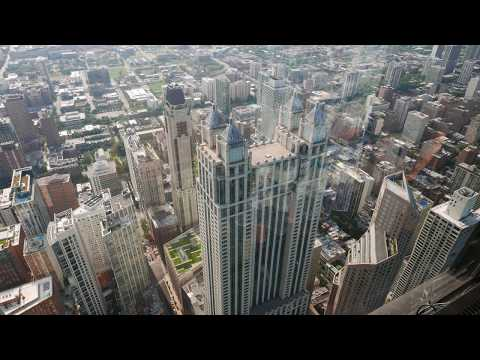Chicago Skyline Views & 360 Chicago TILT & Observation Deck @ John Hancock Tower (HD)
