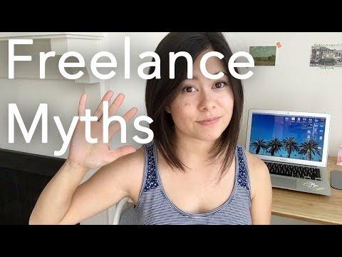 5 Myths of Working Freelance [Freelance Week Day 1]