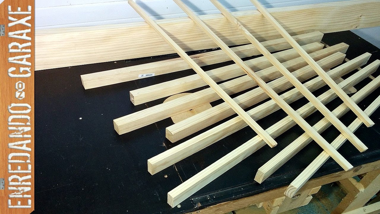 C mo hacer listones de un tabl n de madera youtube - Liston de madera ...
