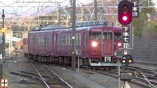 最後の急行型電車!クハ455-702を組み込んだ413系B11編成