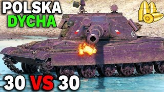30x 60TP Lewandowskiego vs 30x Object 705A - KTO WYGRA? - World of Tanks
