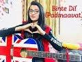 Binte Dil - padmaavat ( female guitar cover - Jannat Khan )