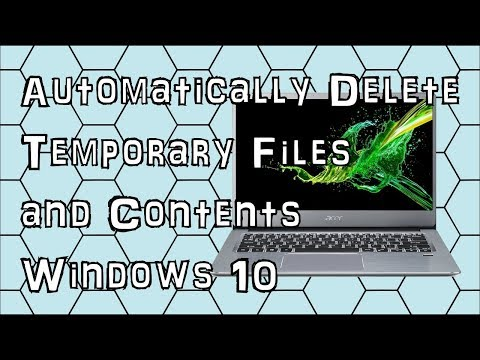 How to Make Windows 10 Automatically Delete Temporary Files and Contents in the Recycle Bin