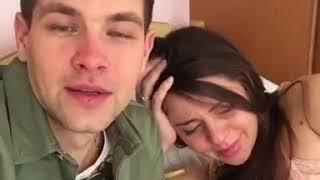 Ольга Рапунцель и Дмитрий Дмитренко дом2 стали родителями, счастливое видео 3.04.18