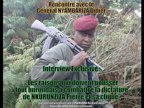 Rencontre avec le général NYAMBARIZA Didier