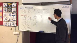 Matrix Multiplication (3 of 3: Observations & Characteristics)