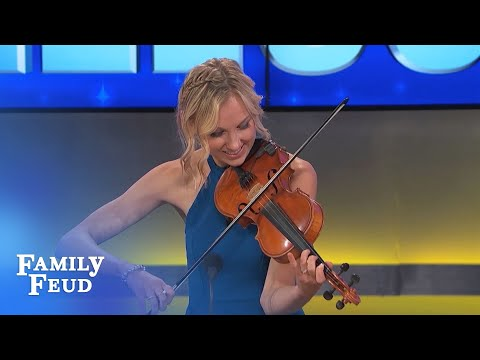 It's time for some fiddlin' on the Feud! | Family Feud