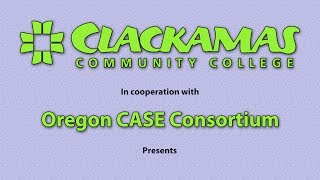 Oregon CASE Grant/Clackamas Community College Writing Mastery Course - Video 8 of 21
