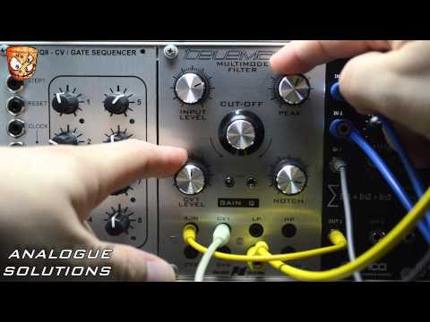 Analogue Solutions TMF - Telemark Multimode Filter eurorack module video overview