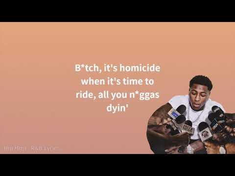 YoungBoy Never Broke Again - In Control (Lyrics)