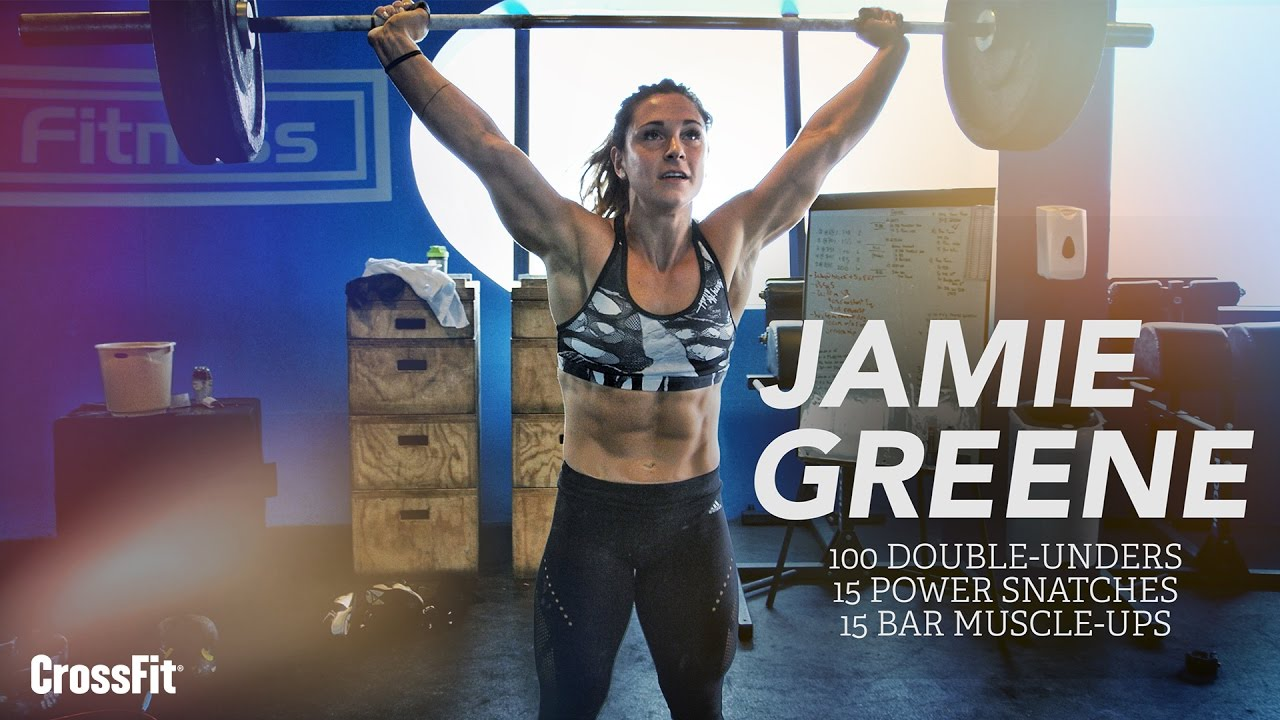 Download Jamie Greene: Double-Under, Power Snatch, Bar Muscle-up