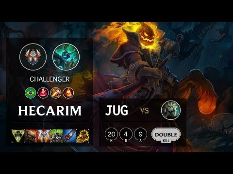 Hecarim Jungle vs Rengar - BR Challenger Patch 10.10