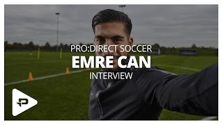 Emre Can Interview: How To Train Like a Pro