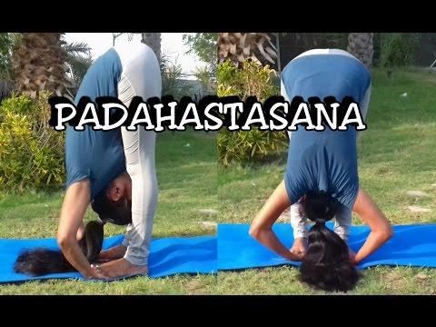 Padahastasana & Ardha chakrasana Alignment | Dr.Amar & Dr.Suma | Episode-4