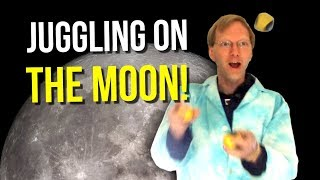 Juggling on the Moon! (aboard a Zero Gravity flight)
