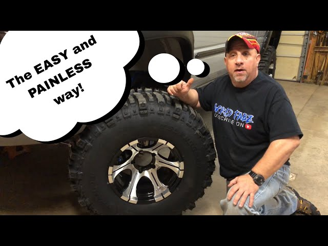 How To Install Tires and Wheels Without Hurting Yourself