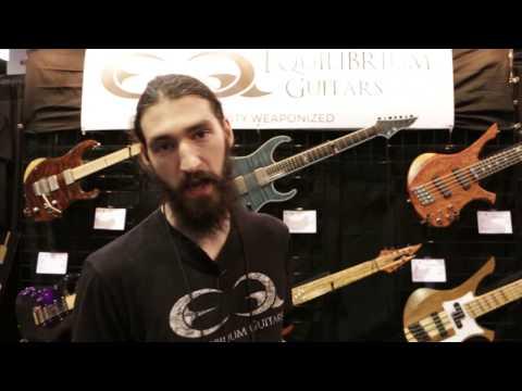 Equilibrium Guitars - NAMM 2017   GEAR GODS