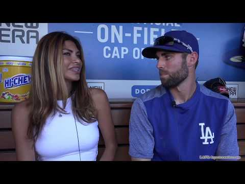 Chris Taylor Talks About the Dodgers