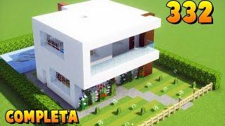 ✔ Minecraft Tutorial - Casa Moderna #332 (COMPLETA) ‹ MANYA ›