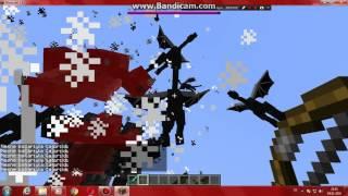 Minecraft canavar ordusu !! Ve canavar çağırma