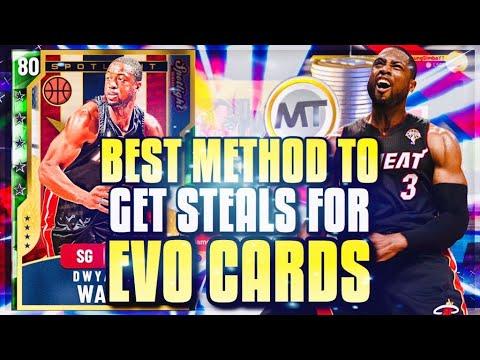 Best Method to Get Steals for Evolution Cards in NBA 2K20 MyTeam!