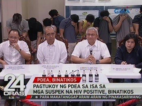 Pagtukoy ng PDEA sa isa sa mga suspek na HIV positive, binatikos