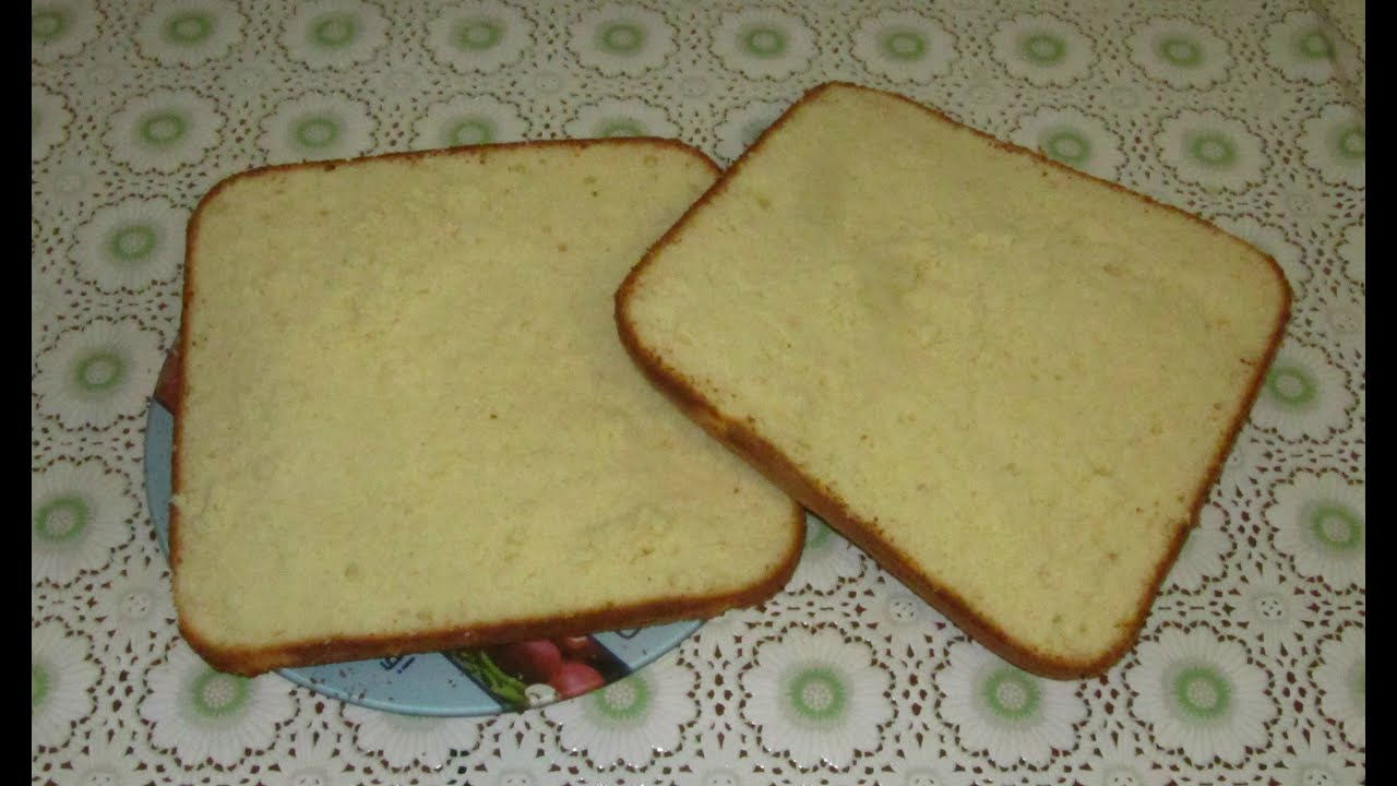 рецепт бисквита ванильного