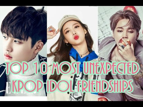 [TOP 10] Top 10 Most Unexpected Kpop Idol Friendships