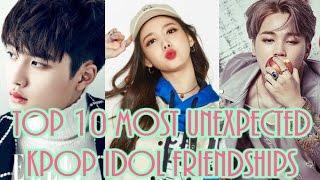 Video [TOP 10] Top 10 Most Unexpected Kpop Idol Friendships download MP3, 3GP, MP4, WEBM, AVI, FLV Maret 2018