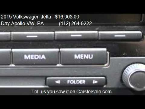 2015 Volkswagen Jetta 2 0l S For Sale In Moon Township Pa 1 Youtube