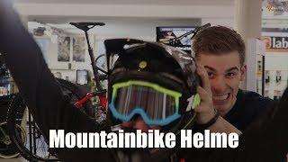 Horrer! Sturz beim MTB - Das solltest du beim Helm beachten